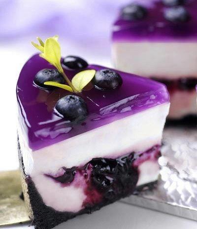 полезные рецепты - творожное желе с ягодами