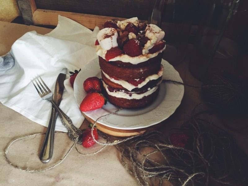шоколадный мини-торт, рецепт