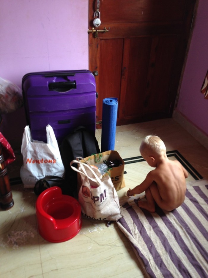 Гоа с ребенком - чемодан для зимовки