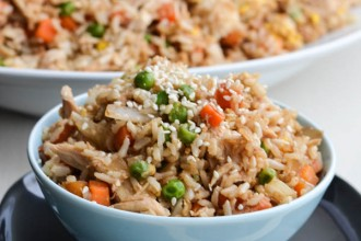 """Chicken fried rice"" или ""Жареный рис с курицей!"" - Ужин по-азиатски."