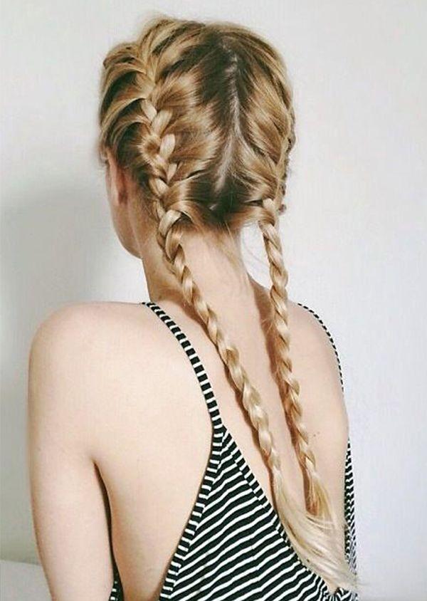 косы, лето