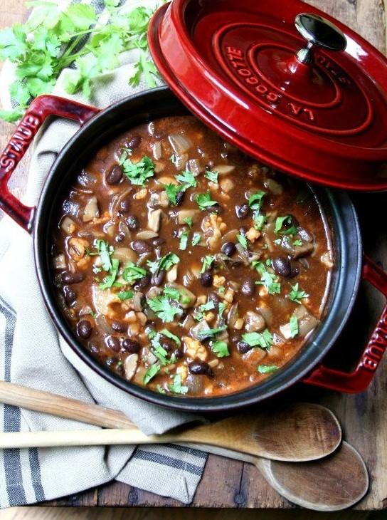 bean mushroom soup 2