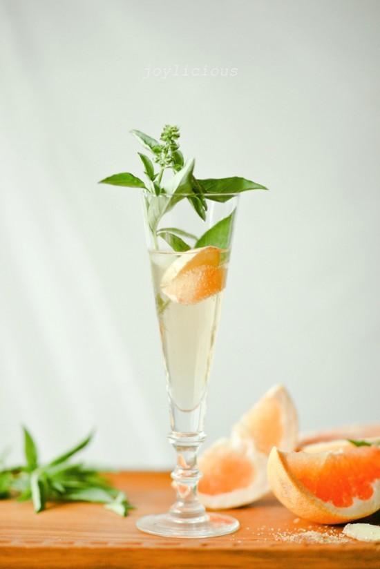 имбирный лимонад с грейпфрутом
