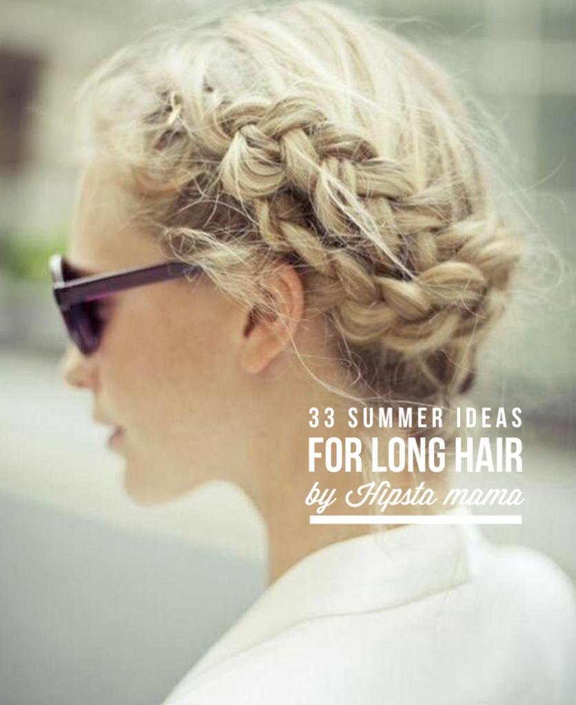 33 идеи на лето для длинных волос