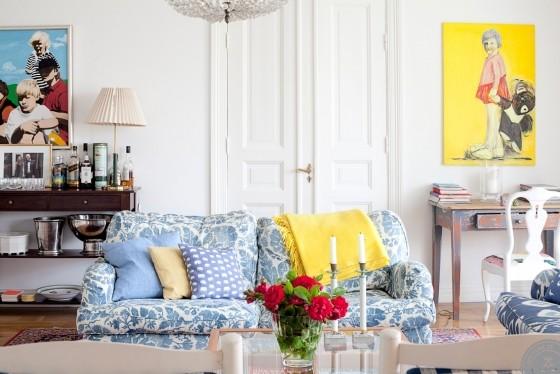 Интерьер недели: летний дом на юге Швеции