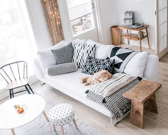 Интерьер недели: квартира в горошек в самом центре Хельсинки