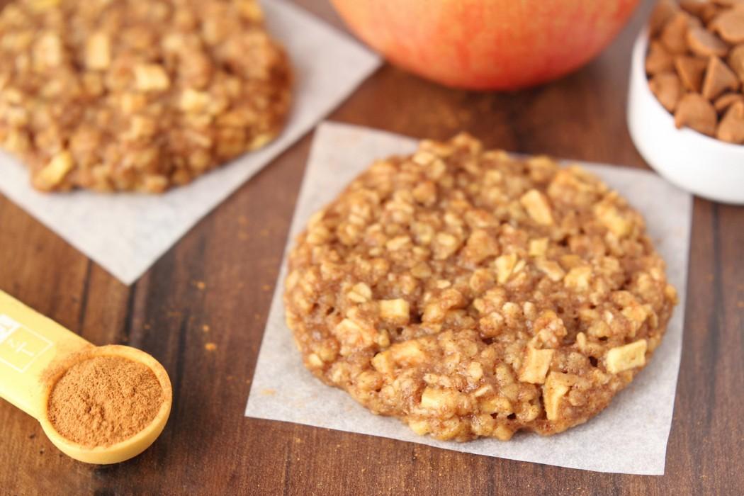 Овсяно-яблочное печенье
