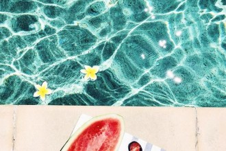 бирюза, бирюзовое лето