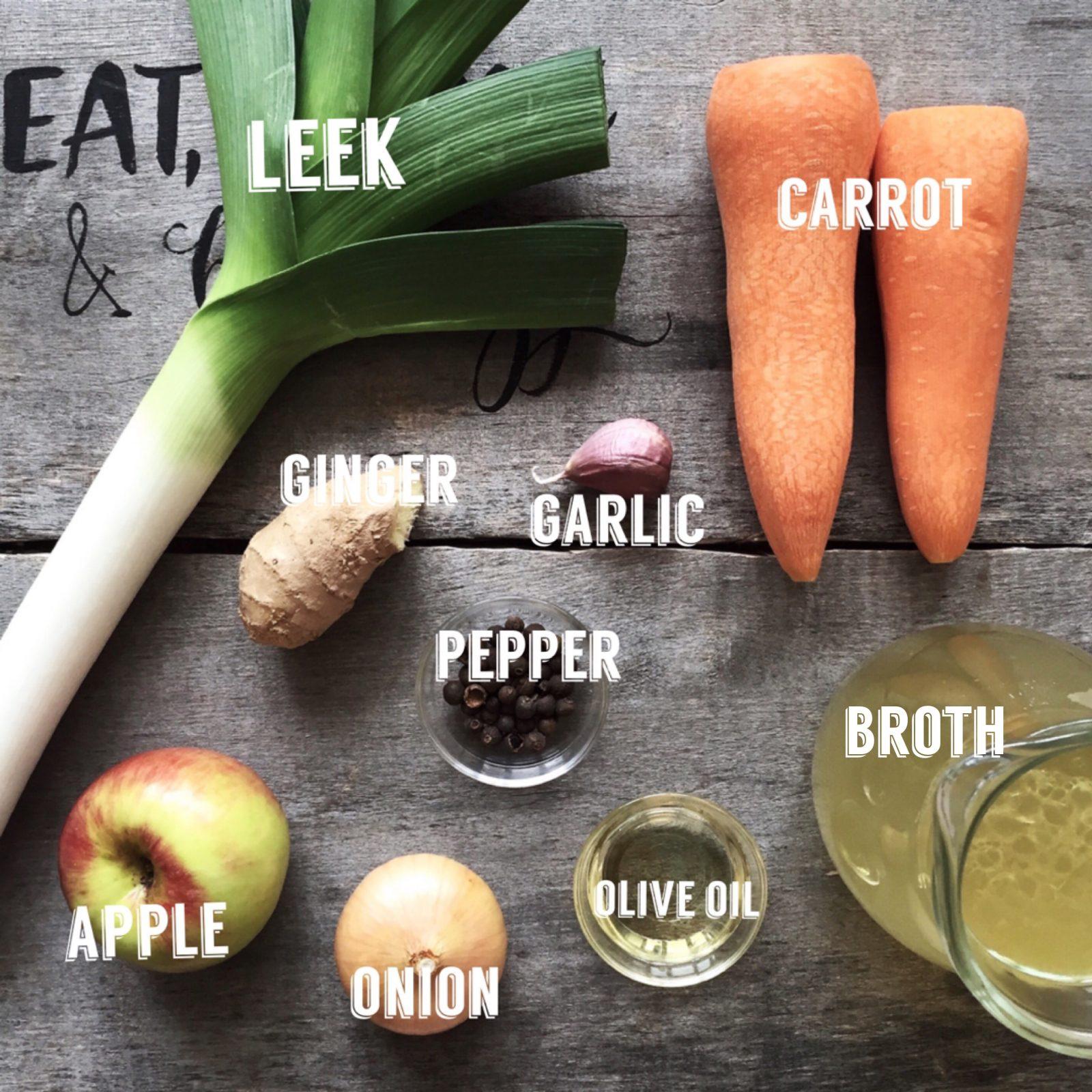 морковно-яблочный суп рецепт