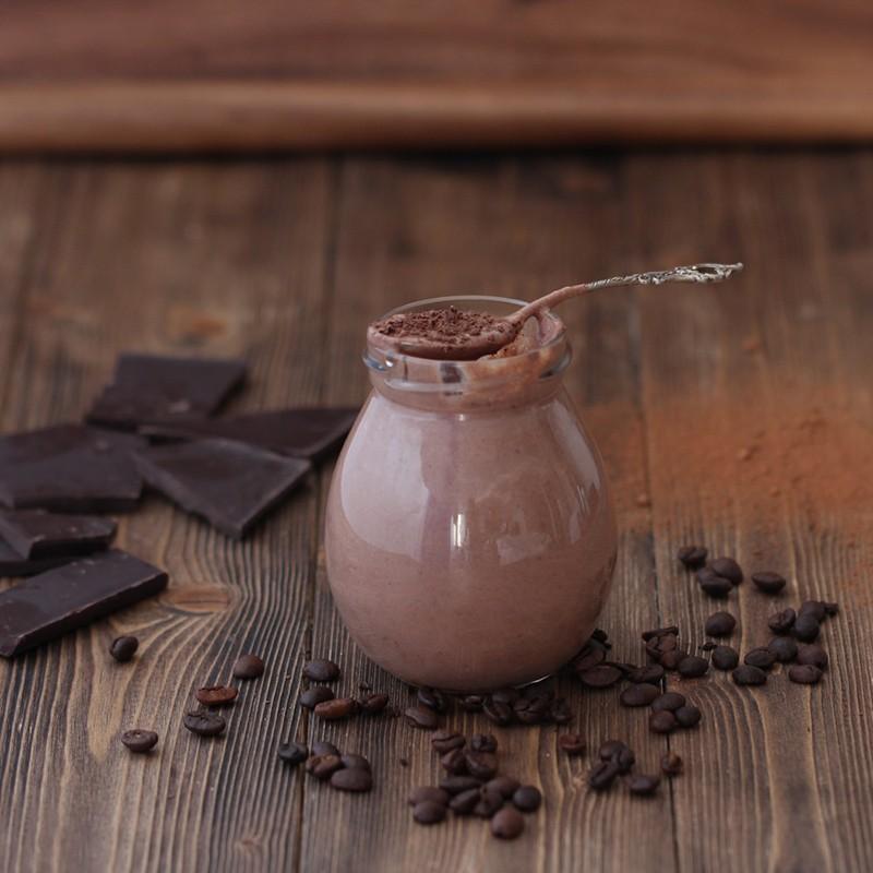 шоколадный пудинг с семенами чиа рецепт