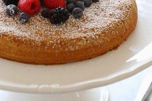 рецепт пирога из ореховой муки