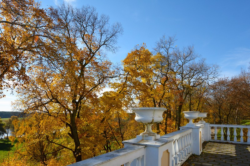 осень, усадьба Архангельское