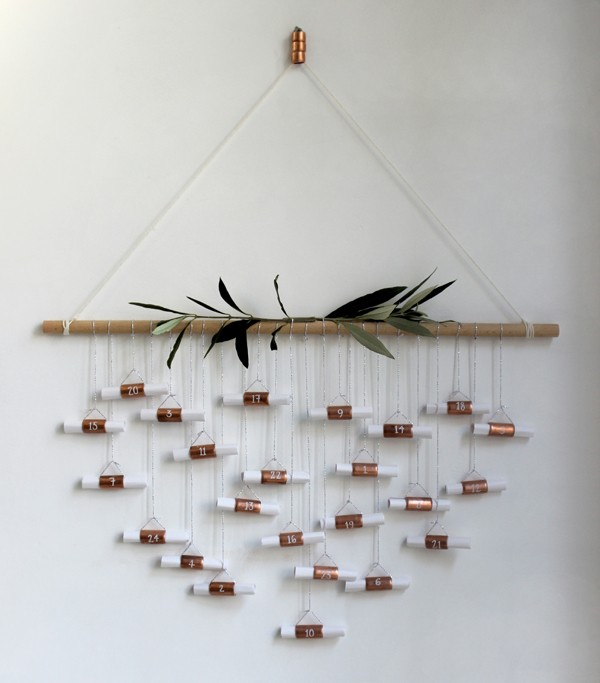 DIY-copper-pipe-advent-calendar-Growing-Spaces