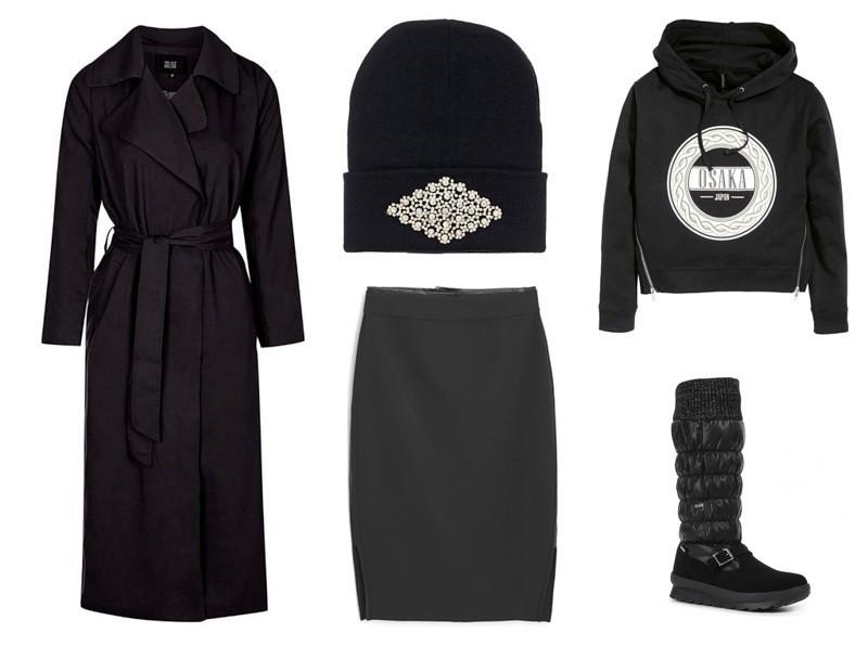 теплая стильная одежда для русской зимы