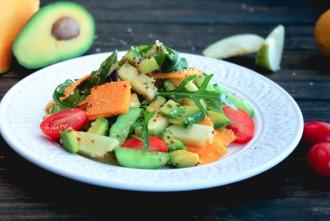 салат с тыквой рецепт