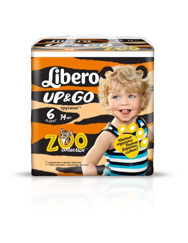 Libero Up&Go Size6 14pcs RU