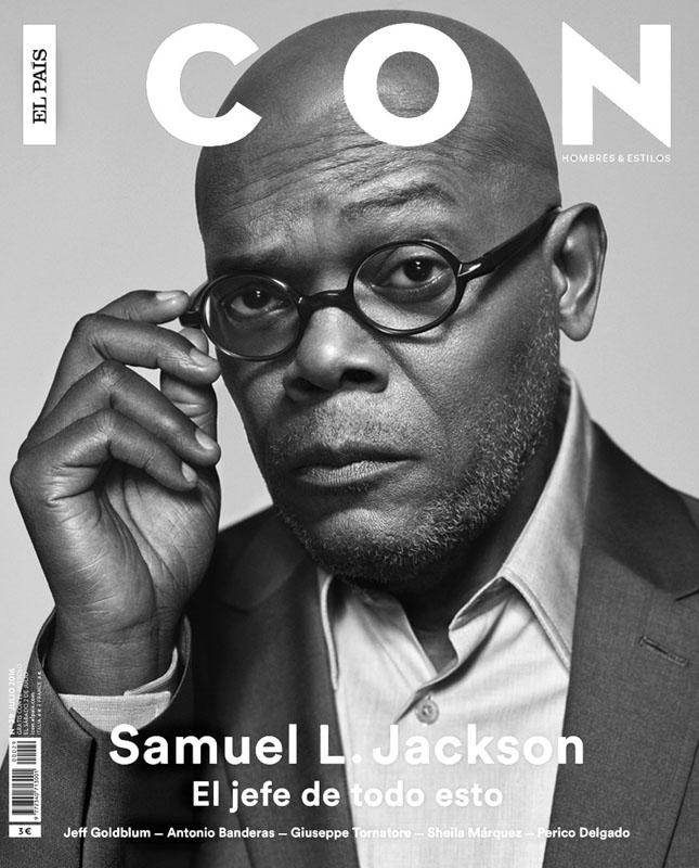 Сэмюэль Л Джексон появился на обложке El Pais Icon Magazine