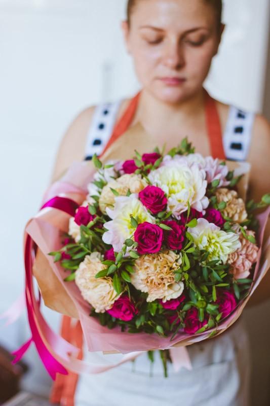 во что упаковать цветы