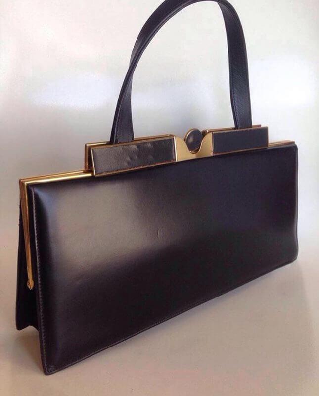 кожаная черная сумка, женская сумочка, необычные сумки