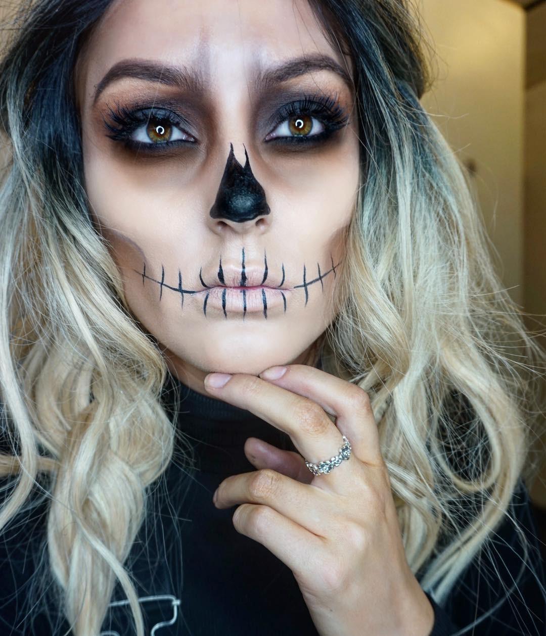 макияж на хэллоуин 2016 идеи для девушек