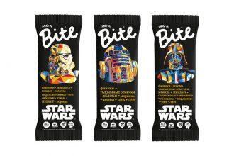 Попробуй силу на вкус! Лимитированная коллекция Bite х Star Wars