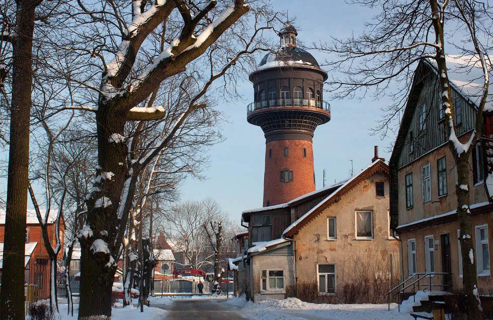 Калининград, Зеленоградск зимой