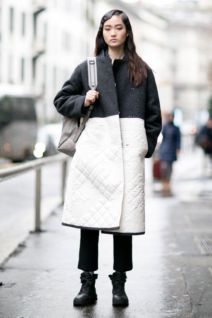с чем носить ботинки грубые, Milan fashion week 2016 street style