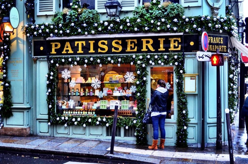 Париж в Рождество и Новый год