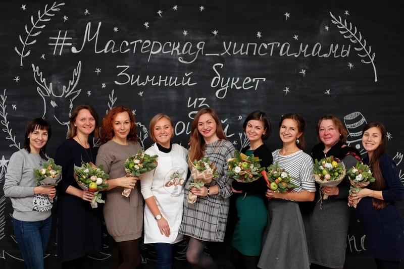 Новогодняя мастерская HIPSTA MAMA в Петербурге прошла эффектно!