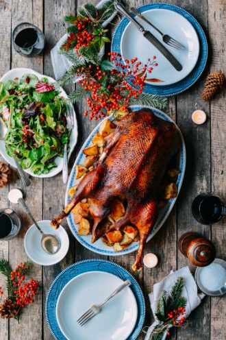 рецепт новогодней утки, меню новогоднего стола 2017
