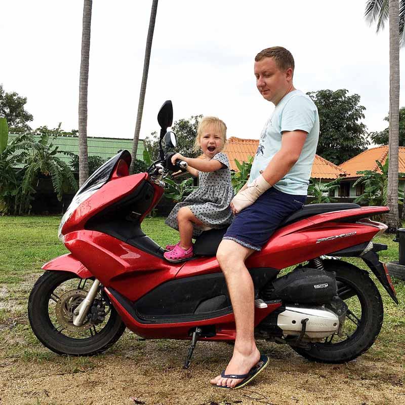 зимовка на Самуи в Таиланде с ребенком