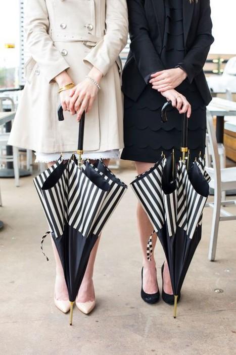 подарки на 8 марта для жены, подруги, сестры, мамы, бабушки, полосатый зонт