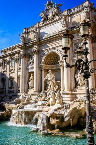 Рим, фонтант де Треви