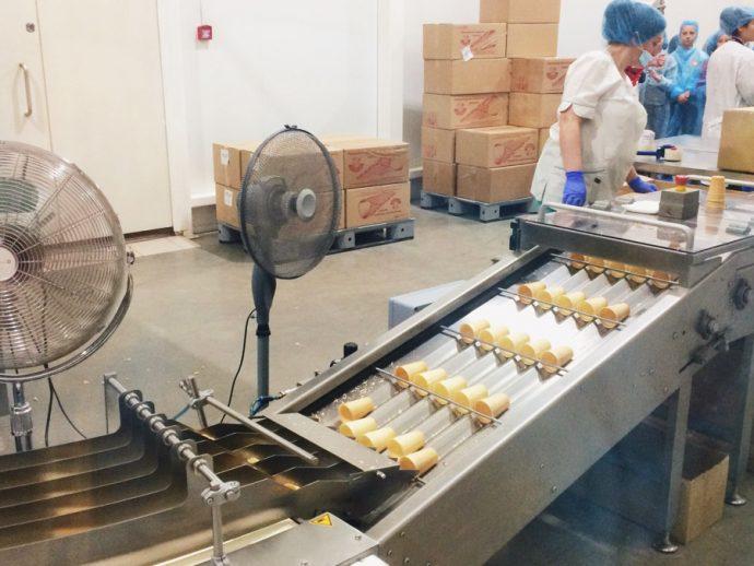 Экскурсия на фабрику мороженого чистая