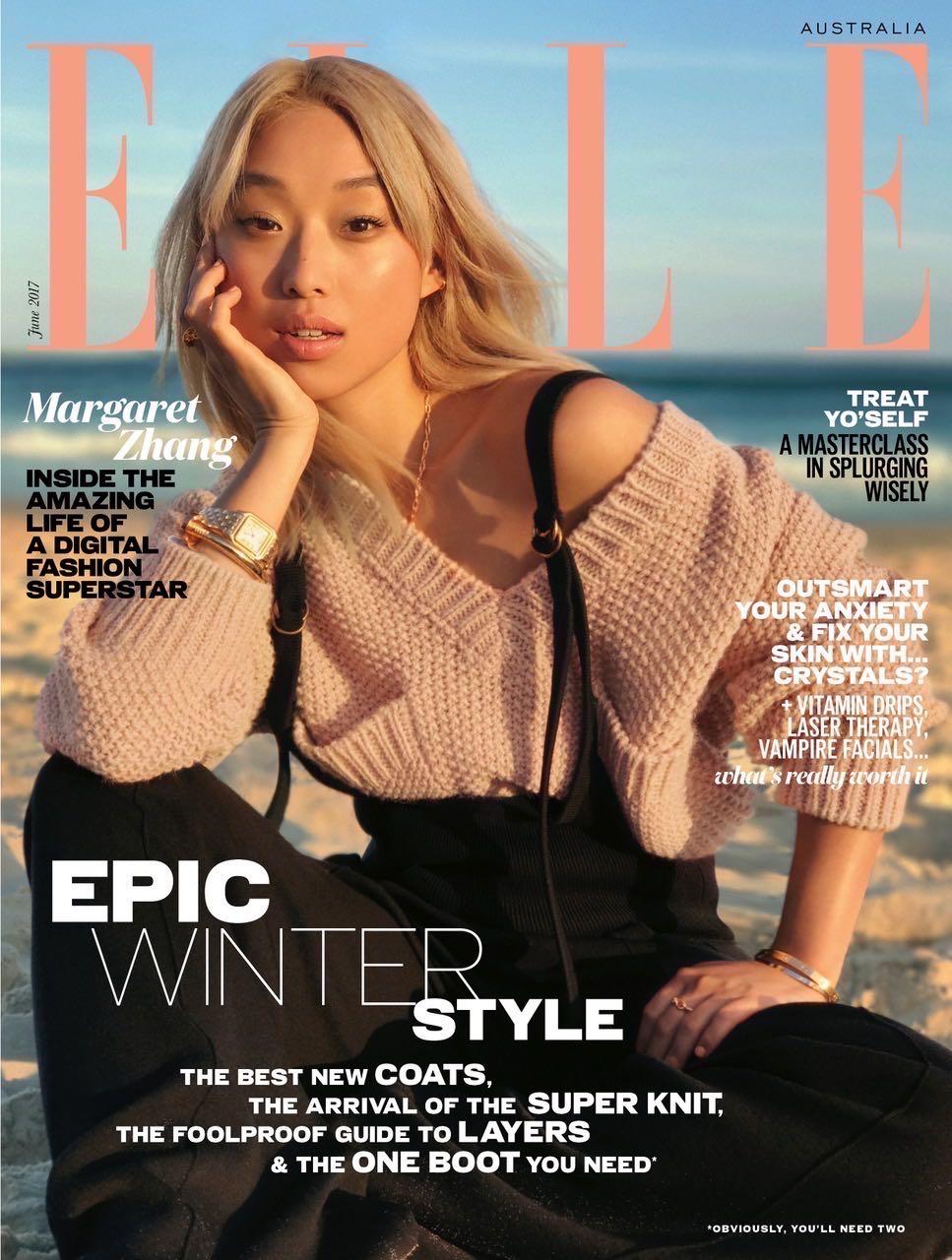 Австралийский Elle вышел собложкой, снятой наайфон