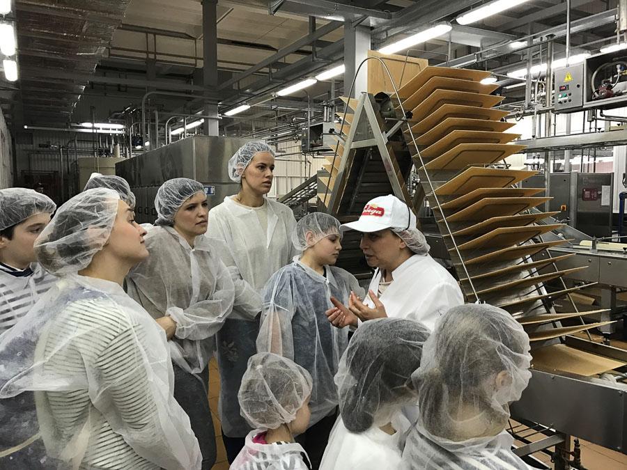 """шоколадная фабрика """"Победа"""", как делают конфеты"""