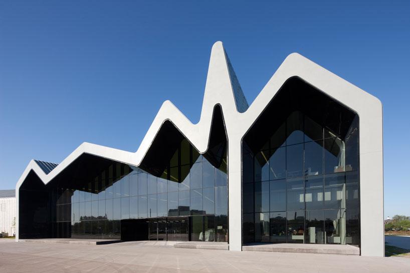 Заха Хадид Музей транспорта в Глазго