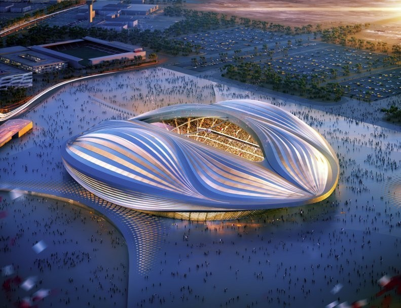 Заха Хадид проект стадиона в Катаре