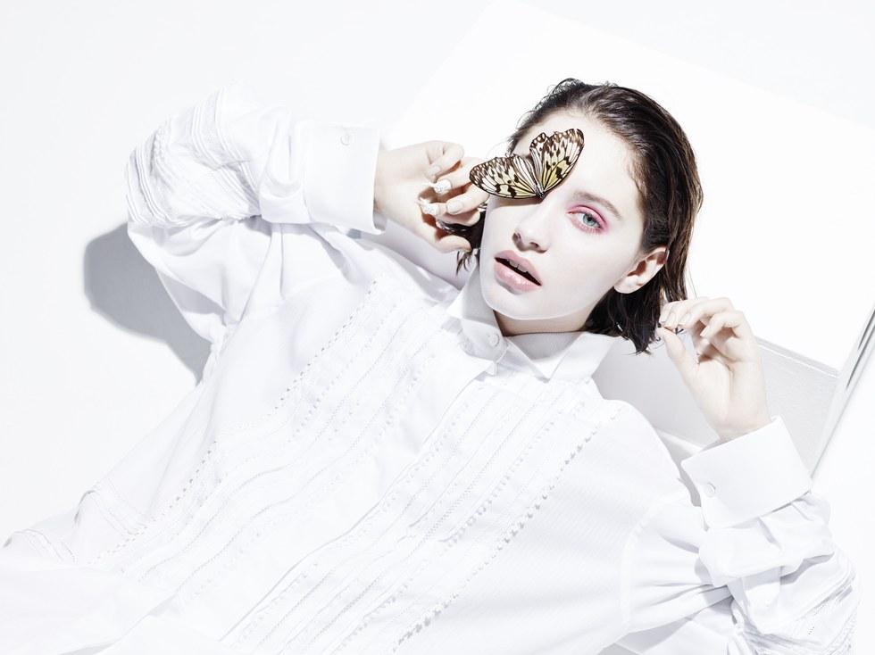 Дочь Джуда Лоу, Айрис - новое лицо в мире моделей