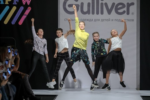 Первая российская Неделя детской моды завершилась в Москве