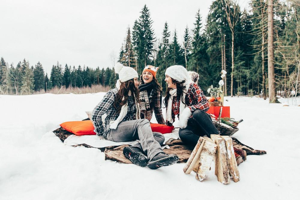 Все на зимний пикник!