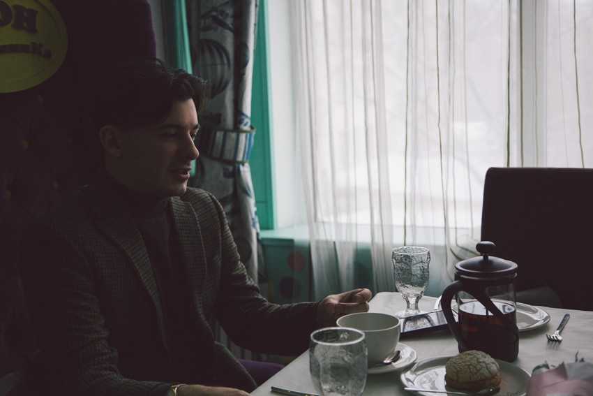 Мартовский завтрак с актером Алексеем Марковым
