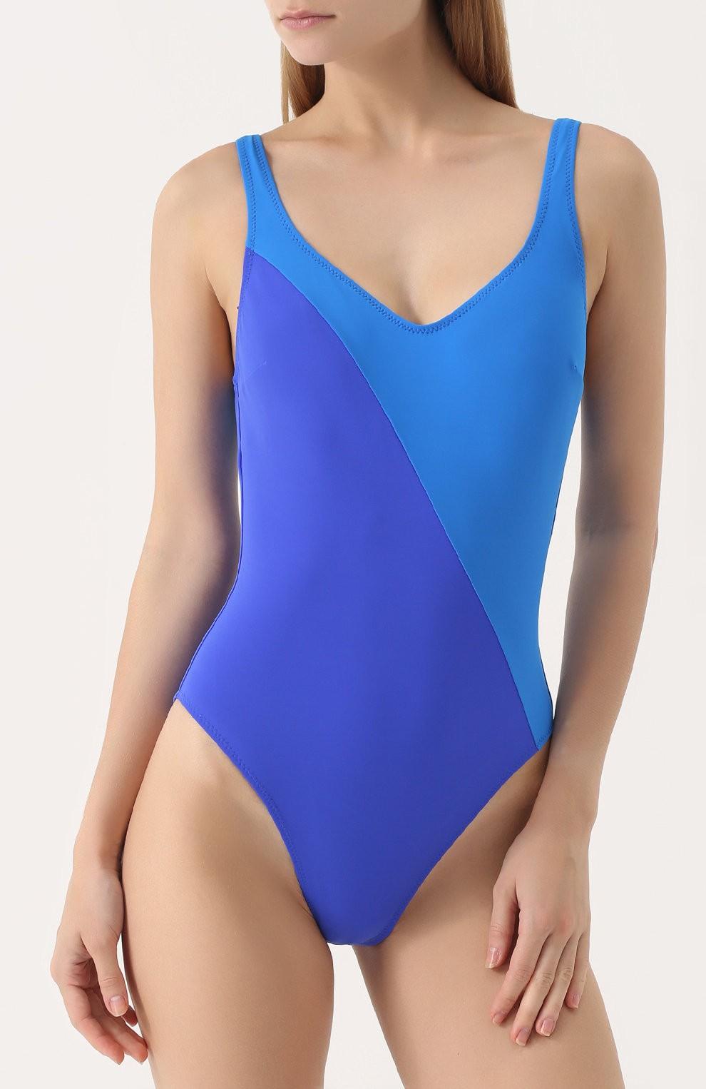 купальники 2018 синий
