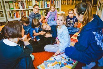 На Воробьевых горах пройдут встречи для детей «Читаем с собакой»
