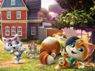 мультфильм 44 котенка