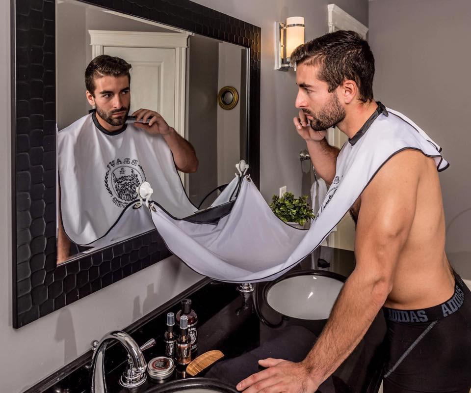 фартук для бороды