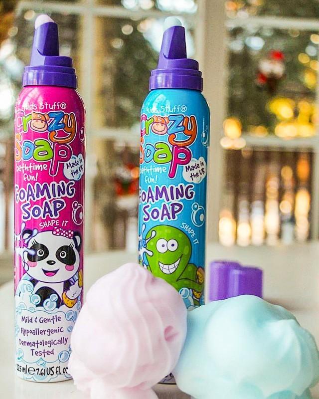 Пена для ванны и творчества Kids Stuff