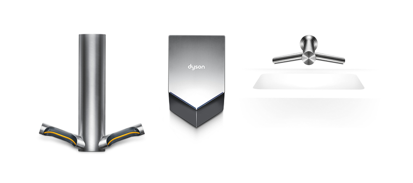 Dyson представляет новую сушилку для рук Airblade 9kJ
