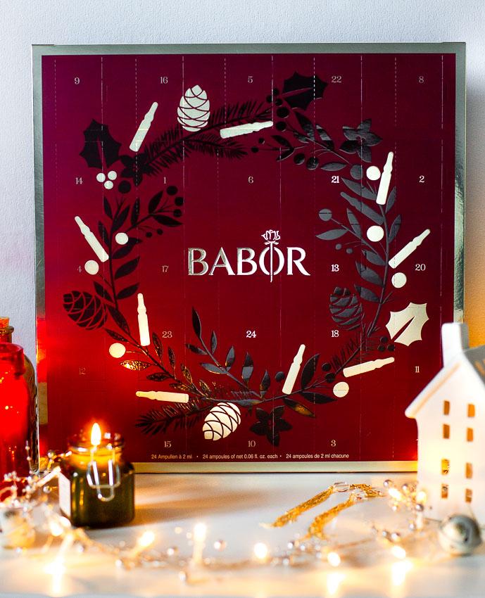 """Рождественский календарь Babor """"24 момента красоты"""" 2019"""