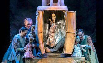 «Сказка о царе Салтане» в театре кукол имени Образцова